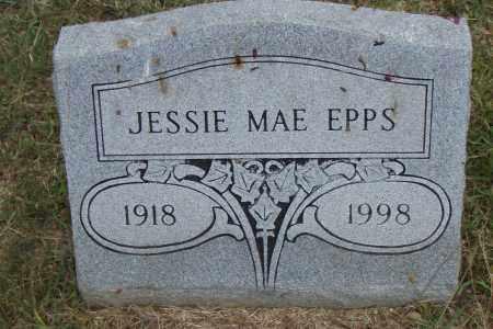 EPPS, JESSIE MAE - Pulaski County, Arkansas | JESSIE MAE EPPS - Arkansas Gravestone Photos