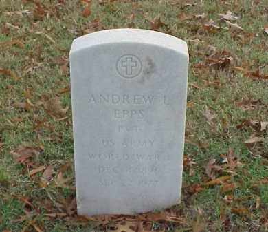 EPPS (VETERAN WWI), ANDREW L - Pulaski County, Arkansas | ANDREW L EPPS (VETERAN WWI) - Arkansas Gravestone Photos