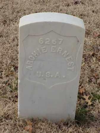 ERNEST (VETERAN WWI), ARCHIE - Pulaski County, Arkansas   ARCHIE ERNEST (VETERAN WWI) - Arkansas Gravestone Photos