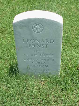 ERNST (VETERAN 3 WARS), LEONARD - Pulaski County, Arkansas | LEONARD ERNST (VETERAN 3 WARS) - Arkansas Gravestone Photos