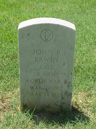 ERWIN (VETERAN WWII), JOHN R - Pulaski County, Arkansas   JOHN R ERWIN (VETERAN WWII) - Arkansas Gravestone Photos