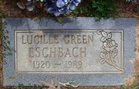 GREEN ESCHBACH, LUCILLE - Pulaski County, Arkansas | LUCILLE GREEN ESCHBACH - Arkansas Gravestone Photos