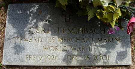 ESCHBACH (VETERAN WWI), CARL J - Pulaski County, Arkansas | CARL J ESCHBACH (VETERAN WWI) - Arkansas Gravestone Photos