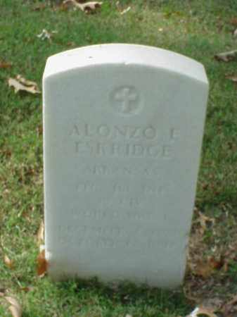 ESKRIDGE (VETERAN WWI), ALONZO L - Pulaski County, Arkansas   ALONZO L ESKRIDGE (VETERAN WWI) - Arkansas Gravestone Photos