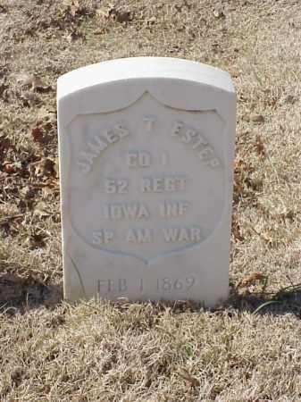 ESTEP (VETERAN SAW), JAMES T - Pulaski County, Arkansas   JAMES T ESTEP (VETERAN SAW) - Arkansas Gravestone Photos