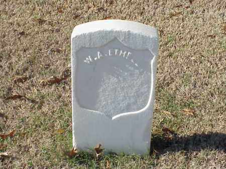 ETHELL (VETERAN UNION), W A - Pulaski County, Arkansas | W A ETHELL (VETERAN UNION) - Arkansas Gravestone Photos