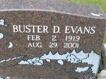 EVANS, BUSTER D. - Pulaski County, Arkansas | BUSTER D. EVANS - Arkansas Gravestone Photos