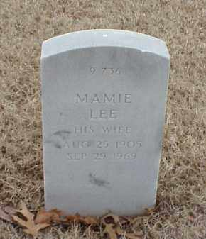 EVANS, MAMIE LEE - Pulaski County, Arkansas | MAMIE LEE EVANS - Arkansas Gravestone Photos