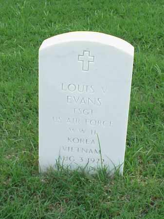 EVANS (VETERAN 2 WARS), LOUIS V - Pulaski County, Arkansas | LOUIS V EVANS (VETERAN 2 WARS) - Arkansas Gravestone Photos