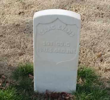 EVANS (VETERAN UNION), ISAAC - Pulaski County, Arkansas   ISAAC EVANS (VETERAN UNION) - Arkansas Gravestone Photos