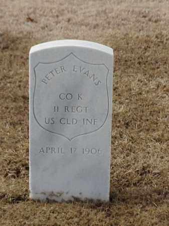 EVANS (VETERAN UNION), PETER - Pulaski County, Arkansas | PETER EVANS (VETERAN UNION) - Arkansas Gravestone Photos