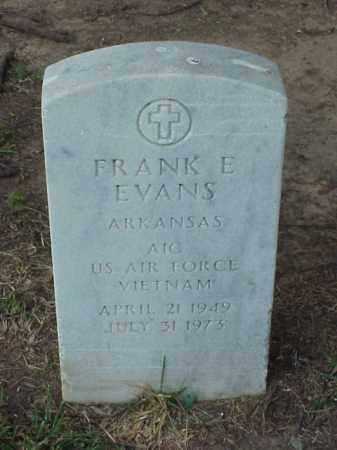 EVANS (VETERAN VIET), FRANK E - Pulaski County, Arkansas   FRANK E EVANS (VETERAN VIET) - Arkansas Gravestone Photos