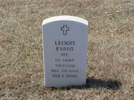 EVANS (VETERAN VIET), LEODIS - Pulaski County, Arkansas | LEODIS EVANS (VETERAN VIET) - Arkansas Gravestone Photos