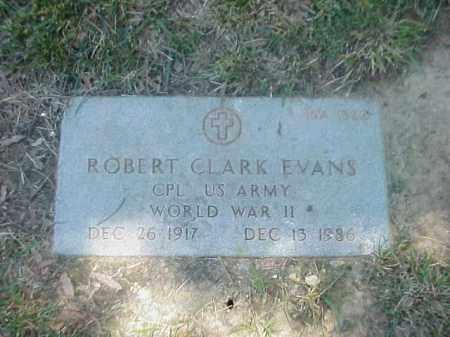EVANS (VETERAN WWII), ROBERT CLARK - Pulaski County, Arkansas | ROBERT CLARK EVANS (VETERAN WWII) - Arkansas Gravestone Photos