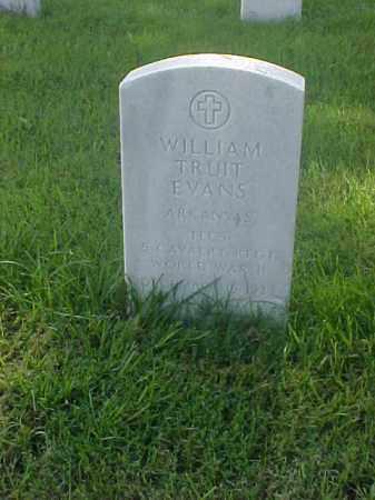 EVANS (VETERAN WWII), WILLIAM TRUIT - Pulaski County, Arkansas | WILLIAM TRUIT EVANS (VETERAN WWII) - Arkansas Gravestone Photos