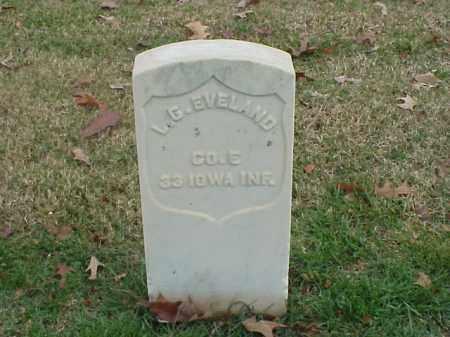 EVELAND (VETERAN UNION), L G - Pulaski County, Arkansas | L G EVELAND (VETERAN UNION) - Arkansas Gravestone Photos