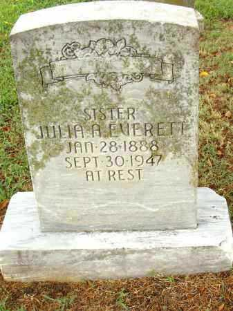 EVERETT, JULIA - Pulaski County, Arkansas | JULIA EVERETT - Arkansas Gravestone Photos