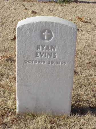 EVINS (VETERAN UNION), RYAN - Pulaski County, Arkansas | RYAN EVINS (VETERAN UNION) - Arkansas Gravestone Photos