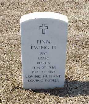EWING III (VETERAN KOR), FINN - Pulaski County, Arkansas | FINN EWING III (VETERAN KOR) - Arkansas Gravestone Photos