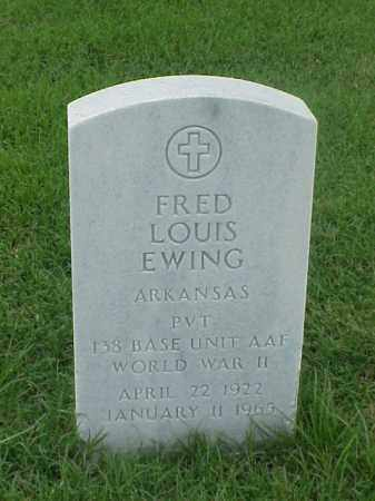 EWING (VETERAN WWII), FRED LOUIS - Pulaski County, Arkansas | FRED LOUIS EWING (VETERAN WWII) - Arkansas Gravestone Photos