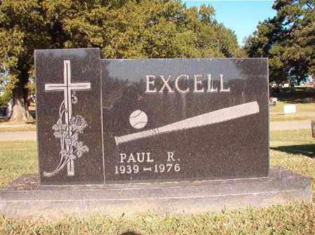 EXCELL, PAUL R - Pulaski County, Arkansas | PAUL R EXCELL - Arkansas Gravestone Photos