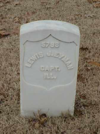 EYMAN (VETERAN UNION), LEWIS J - Pulaski County, Arkansas | LEWIS J EYMAN (VETERAN UNION) - Arkansas Gravestone Photos
