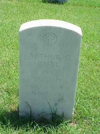EZELL (VETERAN WWII), ARTHUR C - Pulaski County, Arkansas   ARTHUR C EZELL (VETERAN WWII) - Arkansas Gravestone Photos