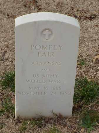 FAIR (VETERAN WWI), POMPEY - Pulaski County, Arkansas | POMPEY FAIR (VETERAN WWI) - Arkansas Gravestone Photos