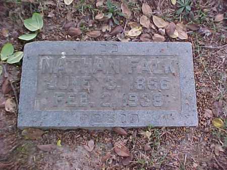 FALK, NATHAN - Pulaski County, Arkansas   NATHAN FALK - Arkansas Gravestone Photos