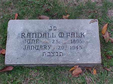 FALK, RANDALL M - Pulaski County, Arkansas   RANDALL M FALK - Arkansas Gravestone Photos