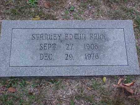 EDWIN FALK, STANLEY - Pulaski County, Arkansas   STANLEY EDWIN FALK - Arkansas Gravestone Photos