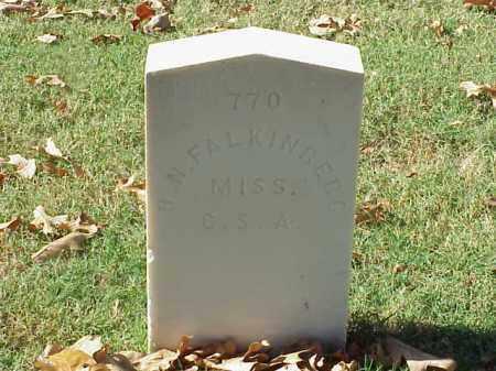 FALKINBERG (VETERAN CSA), HENRY N - Pulaski County, Arkansas | HENRY N FALKINBERG (VETERAN CSA) - Arkansas Gravestone Photos