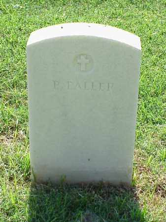 FALLER (VETERAN UNION), P - Pulaski County, Arkansas   P FALLER (VETERAN UNION) - Arkansas Gravestone Photos