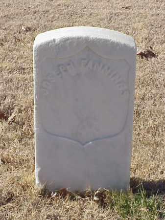 FANNINGS (VETERAN UNION), JOSEPH - Pulaski County, Arkansas | JOSEPH FANNINGS (VETERAN UNION) - Arkansas Gravestone Photos