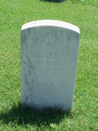 FARMER, AGNES N - Pulaski County, Arkansas   AGNES N FARMER - Arkansas Gravestone Photos