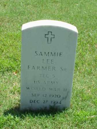FARMER, SR (VETERAN WWII), SAMMIE LEE - Pulaski County, Arkansas | SAMMIE LEE FARMER, SR (VETERAN WWII) - Arkansas Gravestone Photos