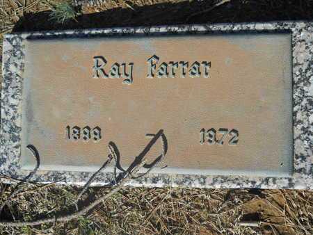 FARRAR, RAY - Pulaski County, Arkansas | RAY FARRAR - Arkansas Gravestone Photos