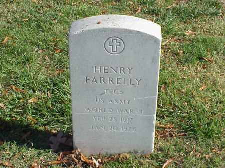 FARRELLY (VETERAN WWII), HENRY - Pulaski County, Arkansas | HENRY FARRELLY (VETERAN WWII) - Arkansas Gravestone Photos