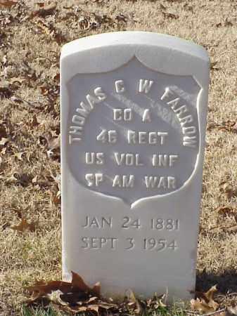 FARROW (VETERAN SAW), THOMAS C WESLEY - Pulaski County, Arkansas | THOMAS C WESLEY FARROW (VETERAN SAW) - Arkansas Gravestone Photos