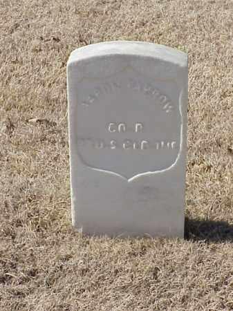 FARROW (VETERAN UNION), AARON - Pulaski County, Arkansas   AARON FARROW (VETERAN UNION) - Arkansas Gravestone Photos
