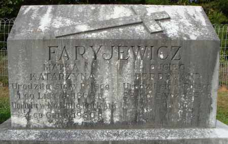 FARYJEWICZ, FERDINAND - Pulaski County, Arkansas | FERDINAND FARYJEWICZ - Arkansas Gravestone Photos