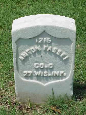 FASSEL (VETERAN UNION), ANTON - Pulaski County, Arkansas | ANTON FASSEL (VETERAN UNION) - Arkansas Gravestone Photos