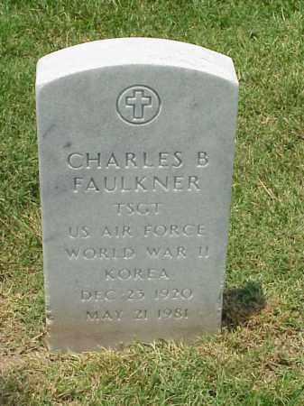 FAULKNER (VETERAN 2 WARS), CHARLES B - Pulaski County, Arkansas | CHARLES B FAULKNER (VETERAN 2 WARS) - Arkansas Gravestone Photos