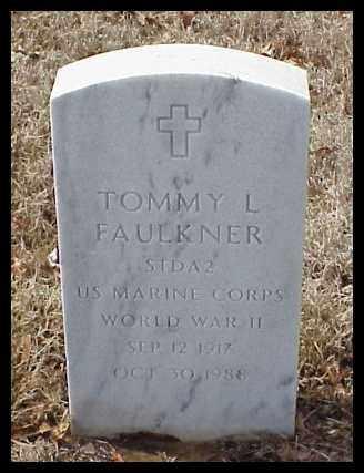 FAULKNER (VETERAN WWII), TOMMY L - Pulaski County, Arkansas | TOMMY L FAULKNER (VETERAN WWII) - Arkansas Gravestone Photos