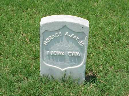 FAY, JR (VETERAN UNION), HORACE A - Pulaski County, Arkansas | HORACE A FAY, JR (VETERAN UNION) - Arkansas Gravestone Photos