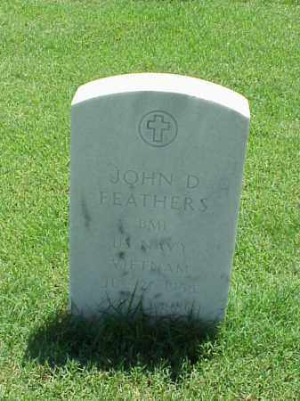 FEATHERS (VETERAN VIET), JOHN D - Pulaski County, Arkansas | JOHN D FEATHERS (VETERAN VIET) - Arkansas Gravestone Photos