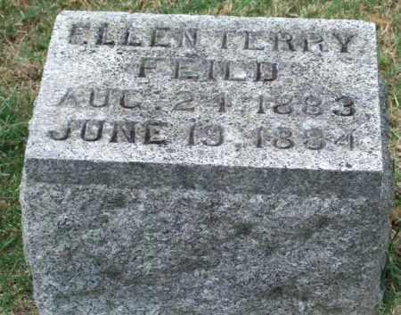 FEILD, ELLEN TERRY - Pulaski County, Arkansas   ELLEN TERRY FEILD - Arkansas Gravestone Photos