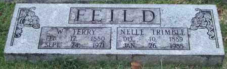 FEILD, W. TERRY - Pulaski County, Arkansas | W. TERRY FEILD - Arkansas Gravestone Photos
