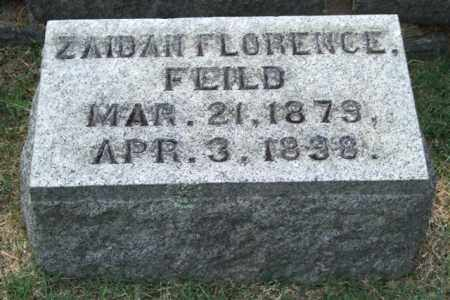FEILD, ZAIDAH FLORENCE - Pulaski County, Arkansas | ZAIDAH FLORENCE FEILD - Arkansas Gravestone Photos