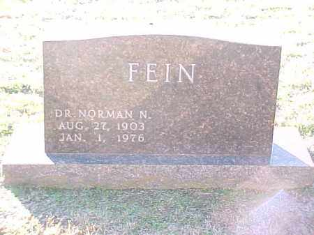 FEIN, MD, NORMAN N - Pulaski County, Arkansas | NORMAN N FEIN, MD - Arkansas Gravestone Photos